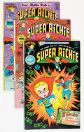 Bronze Age (1970-1979):Cartoon Character, Superichie #1-18 File Copy Group (Harvey, 1975-79) Condition:Average NM-.... (Total: 46 Comic Books)