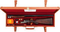 Cased 20 gauge Arizaga Sidelock Ejector Double Barrel Shotgun