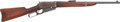 Long Guns:Lever Action, Winchester Model 1895 Lever Action Saddle Ring Carbine Attributed to Texas Ranger Henry Lee Ransom....