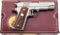 Handguns:Semiautomatic Pistol, Boxed Colt Gold Cup National Match Commander Semi-Automatic Pistol....