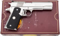 Handguns:Semiautomatic Pistol, Boxed Colt National Match Gold Cup Series 80 Semi-Automatic Pistol....
