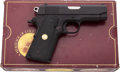 Handguns:Semiautomatic Pistol, Boxed Colt Commanding Officer's Semi-Automatic Pistol....