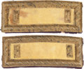 Military & Patriotic:Civil War, Handsome Pair of Civil War Cavalry Lieutenant's Smith's Patent Shoulder Straps....