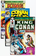 Modern Age (1980-Present):Science Fiction, King Conan/Conan the King #1-55 Complete Series Group (Marvel,1979-89) Condition: Average NM-.... (Total: 55 Comic Books)