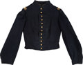 Military & Patriotic:Civil War, Identified Civil War Cavalry Lieutenant's Jacket Charles S. Rust 31st Mass Infantry ( Mounted in Dec 1863 )...