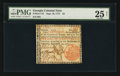 Colonial Notes:Georgia, Georgia September 10, 1777 $2 PMG Very Fine 25 Net.. ...