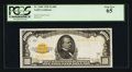 Small Size:Gold Certificates, Fr. 2408 $1,000 1928 Gold Certificate. PCGS Gem New 65.. ...