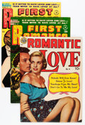 Golden Age (1938-1955):Romance, First Romance Group (Harvey, 1951-55).... (Total: 6 Comic Books)