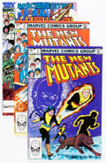 Modern Age (1980-Present):Superhero, The New Mutants #1-76 Group (Marvel, 1982-90) Condition: AverageNM-.... (Total: 76 Comic Books)