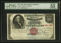 Large Size:Refunding Certificates, Fr. 214 $10 1879 Refunding Certificate PMG About Uncirculated 55 EPQ.. ...