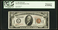 Small Size:World War II Emergency Notes, Fr. 2303 $10 1934A Hawaii Federal Reserve Note. PCGS Superb Gem New67PPQ.. ...