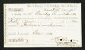 Confederate Notes:Group Lots, Interagency Transfer Deposit Form Richmond, VA- $611.87 Oct. 12,1861 Tremmell VA-150.. ...