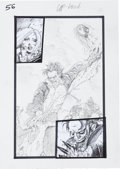 "Original Comic Art:Splash Pages, Simon Bisley Tower Chronicles #1 ""GeistHawk"" Page 56Original Art (Legendary, 2012).. ..."