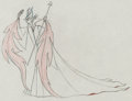Animation Art:Production Drawing, Sleeping Beauty Maleficent Pan Production Drawing AnimationArt (Walt Disney, 1959). ...