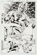 Original Comic Art:Splash Pages, Ivan Reis and Oclair Albert Green Lantern V4 #38 Page 8Original Art (DC, 2009)....