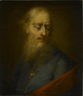 Fine Art - Painting, European:Antique  (Pre 1900), FLEMISH SCHOOL, Late 18th Century. Portrait Of A Man. Oil oncanvas. 20 x 18in. (unframed). Park-Bernet Galleries, NY...