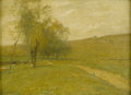 Fine Art - Painting, American:Antique  (Pre 1900), JOHN FRANCIS MURPHY (American 1853-1921). Landscape WithPath, 1904. Oil on canvas. 15 x 21in. (unframed). Signed lower...