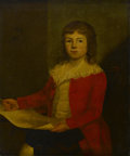 Fine Art - Painting, American:Antique  (Pre 1900), BRITISH SCHOOL (Eighteenth Century). Master John D'Arcy,.Oil on canvas. 30 x 25in. (unframed). Unsigned. From the colle...