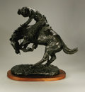 Sculpture, Property of Other Owners. After FREDERIC REMINGTON (American, 1861-1909). The Rattlesnake. Bronze. 17in. x 17in. x 9in....