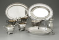 Other:American, A GROUPING OF SILVER ITEMS. Various makers. The group of silveritems including a serving plate and two silver bowl, tog...(Total: 9 Items)