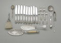 Other:American, A GROUPING OF ASSORTED FLATWARE AND SERVING PIECES. Various makers.The grouping of flatware by various makers. ...