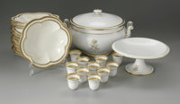 A GROUPING OF AMERICAN PORCELAIN Various makers, including Tiffany & Co., New York, NY  The group of eleven bowls (8...