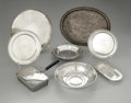 Other:American, A GROUPING OF SILVER ITEMS. Various makers. The grouping of silverserving items including a chafing dish, a butter dish, ... (Total:8 Items)