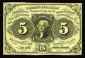 Fractional Currency:First Issue, Milton 1E5F.2 5¢ First Issue Essay Superb Gem New. Printed in black on a soft yellow paper. The underlying yellow color give...