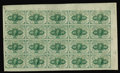 Fractional Currency:First Issue, Fr. 1242 10c First Issue Uncut Sheet of Twenty Very Choice New. Anear Gem sheet with plate number 6 in the left edge. The t...