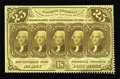 Fractional Currency:First Issue, Fr. 1280 25¢ First Issue Very Choice New. Perforated on two and aquarter sides with no perfs present at the left. The back ...