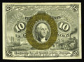 Fractional Currency:Second Issue, Fr. 1245 10c Second Issue Gem New. Huge margins, a bright bronze oval that is centered nicely over Washington, and excellent...