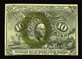 "Fractional Currency:Second Issue, Fr. 1245 10c Second Issue New. This is the ""18""-only variety that was avidly collected as an extreme rarity up through the l..."