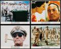 "Movie Posters:War, MacArthur (Universal, 1977). Mini Lobby Card Set of 4, & Photos(15) (8"" X 10""). War.. ... (Total: 19 Items)"