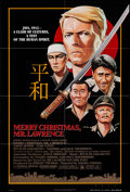 "Movie Posters:War, Merry Christmas, Mr. Lawrence (Universal, 1983). One Sheet (26.5"" X39.75"") & Photos (10) (8"" X 10""). War.. ... (Total: 11 Items)"