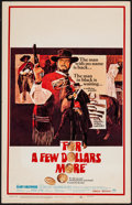 """Movie Posters:Western, For a Few Dollars More (United Artists, 1967). Window Card (14"""" X22""""). Western.. ..."""