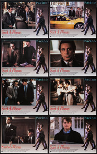 """Scent of a Woman & Others Lot (Universal, 1992). International Lobby Card Set of 8 (11"""" X 14""""), Photo (7.5..."""
