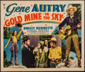 "Movie Posters:Western, Gold Mine In the Sky (Republic, 1938). Half Sheet (22"" X 28"").Western.. ..."