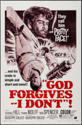 "Movie Posters:Western, God Forgives, I Don't & Others Lot (American International,1969). One Sheets (4) (27"" X 41""). Western.. ... (Total: 3 Items)"