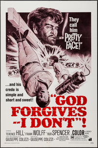 "God Forgives, I Don't & Others Lot (American International, 1969). One Sheets (4) (27"" X 41""). Western..."