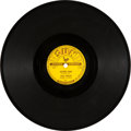 "Music Memorabilia:Recordings, Elvis Presley ""Mystery Train/ I Forgot To Remember"" 78 (Sun 223,1955)...."