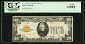 Small Size:Gold Certificates, Fr. 2402* $20 1928 Gold Certificate. PCGS Very Fine 35PPQ.. ...
