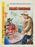 Original Comic Art:Covers, Killer's Crossroads Cover Original Art (All Star Western,1953)....