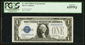 Small Size:Silver Certificates, Fr. 1602 $1 1928B Silver Certificate. Serial Number 3 Y-B Experimental PCGS Gem New 65PPQ.. ...