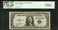 Small Size:Silver Certificates, Fr. 1609 $1 1935A R Silver Certificate. PCGS Superb Gem New 67PPQ.. ...
