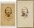 Photography:CDVs, Confederate General George Pickett Cartes de Visite (Two),... (Total: 2 )