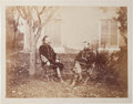 Photography:Cabinet Photos, Union Cavalry Generals George A. Custer and Alfred Pleasonton Photograph,...