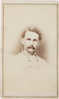 Photography:Cabinet Photos, Confederate General Francis Redding Tillou Nicholls CabinetCard....