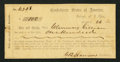 Confederate Notes:Group Lots, Interim Depository Receipt Raleigh, NC- $100 March 26, 1864Tremmell NC-122.. ...