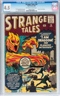 Silver Age (1956-1969):Horror, Strange Tales #76 (Marvel, 1960) CGC VG+ 4.5 Off-white to whitepages....
