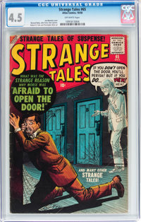 Strange Tales #65 (Atlas, 1958) CGC VG+ 4.5 Off-white pages